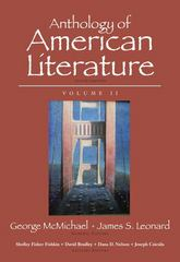 Anthology of American Literature, Volume II 10th Edition 9780205779369 0205779360