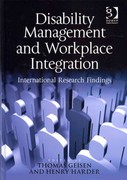 Disability Management and Workplace Integration 1st Edition 9781317150169 1317150163