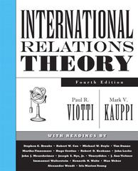International Relations Theory 4th edition 9780131892613 0131892614