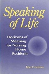 Speaking of Life 0 9780202304816 0202304817