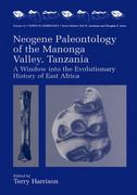 Neogene Paleontology of the Manonga Valley, Tanzania 1st edition 9780306454714 0306454718