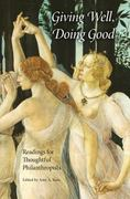 Giving Well, Doing Good 1st Edition 9780253219558 0253219558