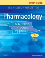 Study Guide for Pharmacology 7th Edition 9781437717129 1437717128
