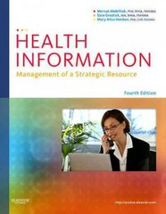 Health Information 4th Edition 9781437708875 1437708870