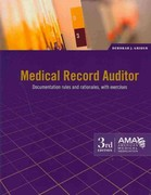 Medical Record Auditor 3rd Edition 9781603592949 1603592946