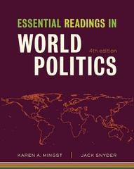 Essential Readings in World Politics (Fourth Edition) (The Norton Series in World Politics) 4th edition 9780393935349 0393935345