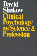 Clinical Psychology as Science and Profession 1st edition 9780202308906 0202308901