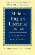 Middle English Literature 1100-1400 0 9780198122289 0198122284