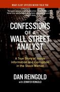 Confessions of a Wall Street Analyst 0 9780060747701 0060747706