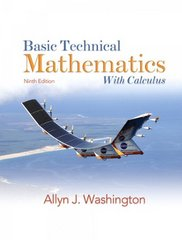 Basic Technical Mathematics with Calculus 9th edition 9780138142261 0138142262