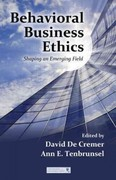 Behavioral Business Ethics 1st edition 9780415873246 041587324X