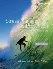 Stress Management and Prevention 2nd Edition 9781136674396 113667439X