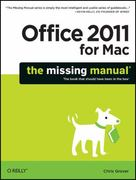 Office 2011 for Mac 1st Edition 9781449393359 1449393357