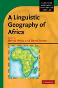 A Linguistic Geography of Africa 0 9780521182690 0521182697