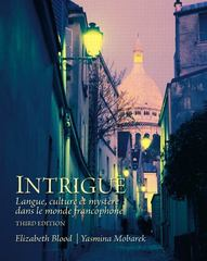 Intrigue 3rd Edition 9780205741328 0205741320