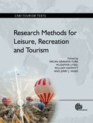 Research Methods for Leisure, Recreation and Tourism 0 9781845937638 1845937635