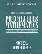 Precalculus Mathematics 5th edition 9780131120952 0131120956