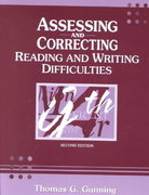 Assessing and Correcting Reading and Writing Difficulties 2nd edition 9780205332557 0205332552