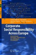 Corporate Social Responsibility Across Europe 1st edition 9783540232513 3540232516
