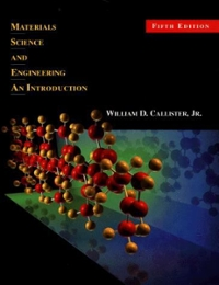 Materials Science and Engineering 5th Edition 9780471320135 0471320137