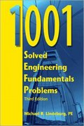 1001 Solved Engineering Fundamentals Problems 3rd edition 9781591260028 1591260027