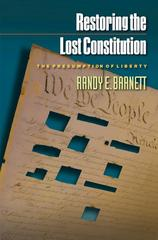 Restoring the Lost Constitution 0 9780691123769 0691123764
