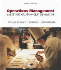 Operations Management 7th Edition 9780072460506 0072460504