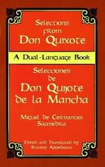 Selections from Don Quixote 1st Edition 9780486406664 0486406660