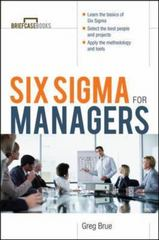 Six Sigma For Managers 1st edition 9780071387552 0071387552