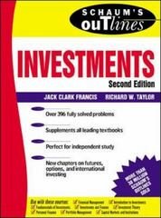 Schaum's Outline of Investments 2nd edition 9780071348492 0071348492