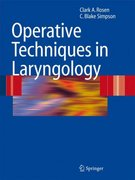 Operative Techniques in Laryngology 1st edition 9783540258063 354025806X