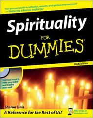 Spirituality For Dummies 2nd edition 9780470191422 0470191422