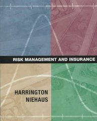 Risk Management and Insurance 1st Edition 9780256210187 0256210187
