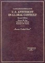 Cases and Materials on U. S. Antitrust in Global Context 2nd edition 9780314231550 0314231552