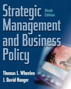 Strategic Management and Business Policy 9th edition 9780131421790 0131421794