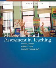 Measurement and Assessment in Teaching 10th edition 9780132408936 0132408937