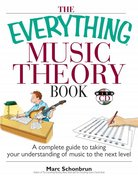 The Everything Music Theory Book 2nd edition 9781593376529 1593376529