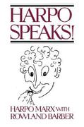 Harpo Speaks! 1st Edition 9780879100360 0879100362