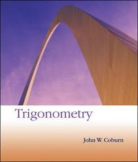 Trigonometry 2nd Edition 9780072910056 0072910054