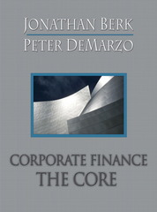 Corporate Finance 1st edition 9780321540096 0321540093