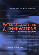 Patents, Citations, and Innovations 0 9780262600651 026260065X