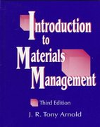 Introduction to Materials Management 3rd edition 9780138620875 0138620873