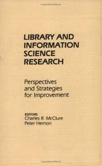 Library and Information Science Research 0 9780893917326 089391732X