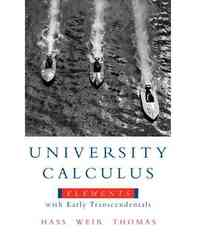 University Calculus 1st edition 9780321533487 0321533488