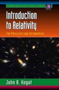 Introduction to Relativity 1st Edition 9780080924083 0080924085