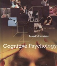 Cognitive Psychology 5th edition 9780495506294 049550629X