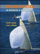 Applied Statistics in Business & Economics with Student CD 2nd Edition 9780077214845 0077214846