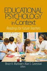 Educational Psychology in Context 1st Edition 9781412913881 1412913888