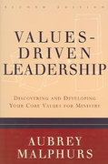 Values-Driven Leadership 2nd Edition 9780801065163 080106516X