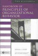The Blackwell Handbook of Principles of Organizational Behavior 1st edition 9780631215066 0631215069